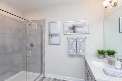 Chesapeake Homes -  The Lilac Owner's Bath