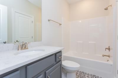 Chesapeake Homes -  The Lilac Upstairs Hall Bath 2