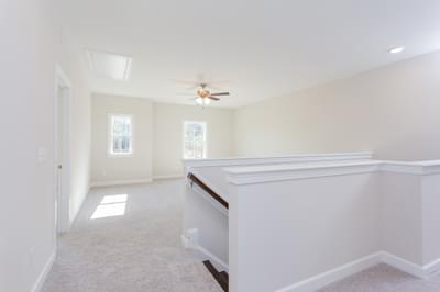 Chesapeake Homes -  Shadow Creek Upstairs Hallway