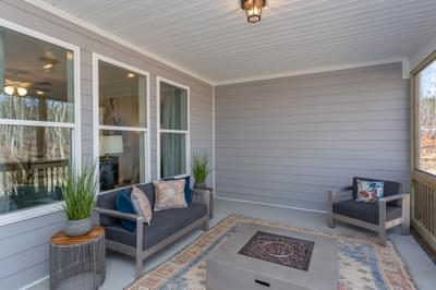 Chesapeake Homes -  The Lilac Rear Covered Porch