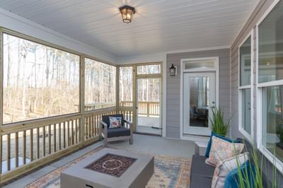 Chesapeake Homes -  Shadow Creek Rear Covered Porch