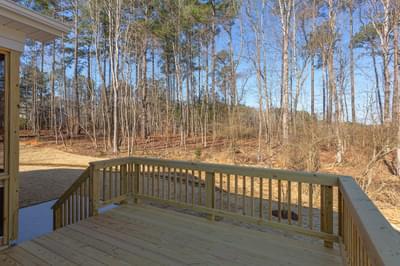 Chesapeake Homes -  The Lilac Rear Deck