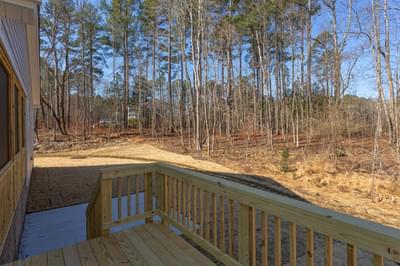 Chesapeake Homes -  Shadow Creek Rear Deck