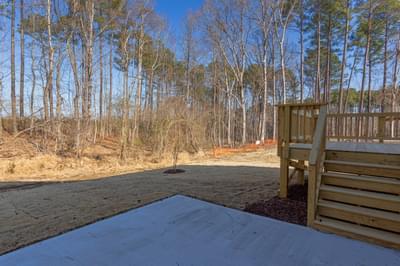 Chesapeake Homes -  Shadow Creek Rear Patio
