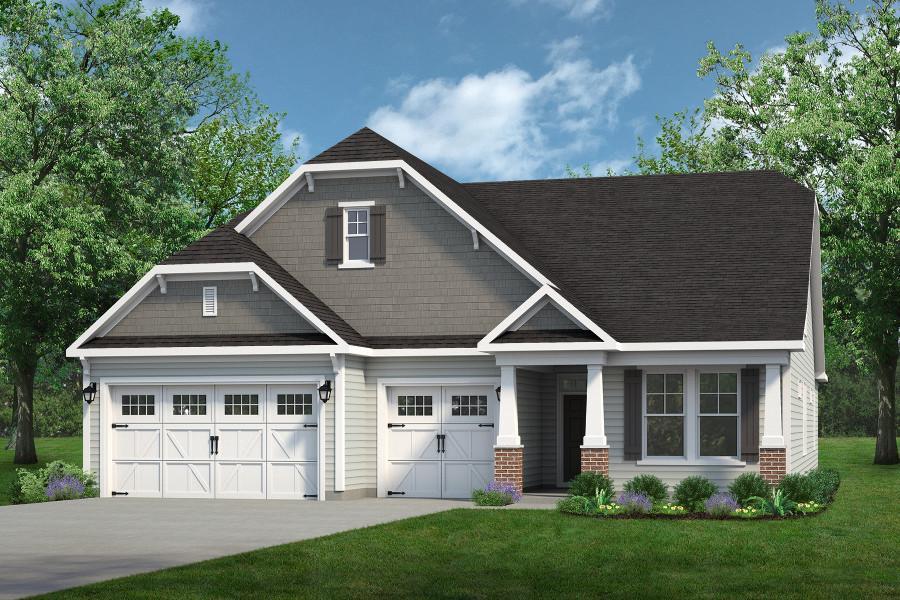 Chesapeake Homes -  The Surfrider Elevation A
