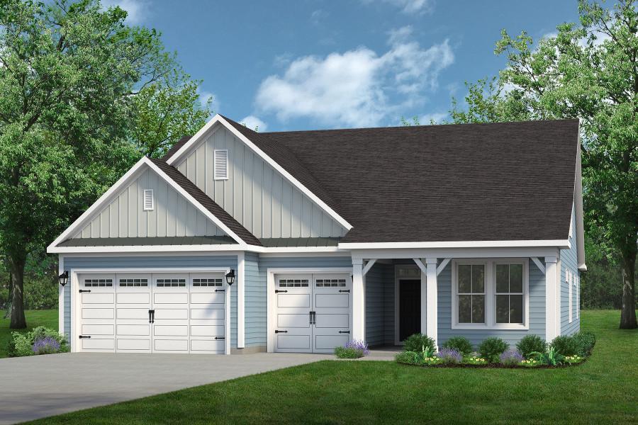 Chesapeake Homes -  The Surfrider Elevation B