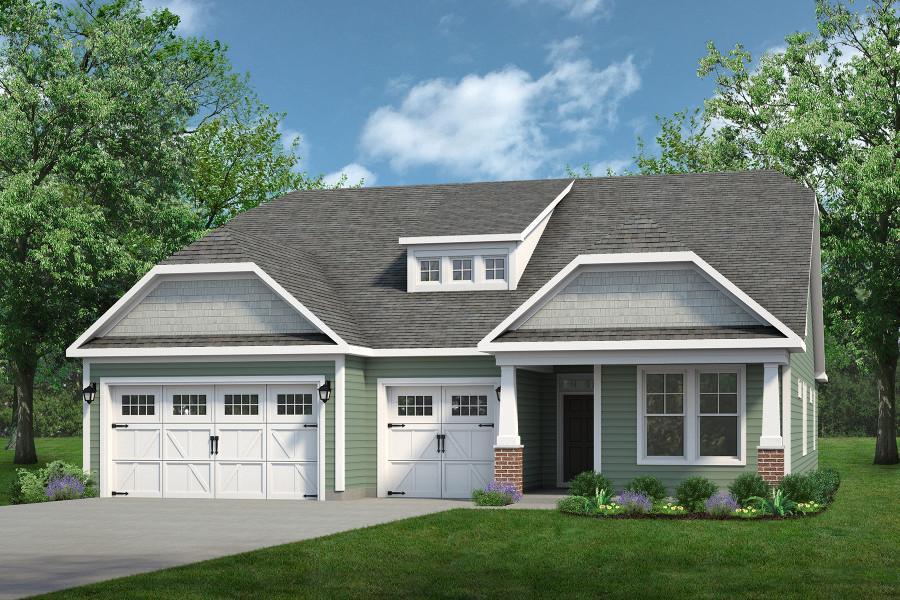 Chesapeake Homes -  The Surfrider Elevation D