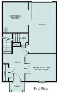 Chesapeake Homes -  The Chardonnay 1st Floor