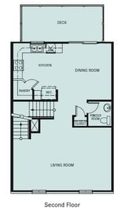 Chesapeake Homes -  The Chardonnay 2nd Floor