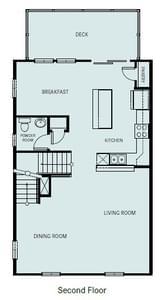 Chesapeake Homes -  The Ambrosia 2nd Floor