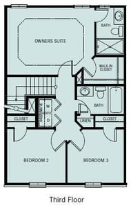 Chesapeake Homes -  The Chardonnay 3rd Floor