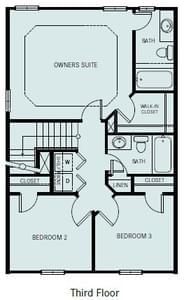 Chesapeake Homes -  The Ambrosia 3rd Floor