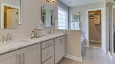 Chesapeake Homes -  The Violet Owner's Bath