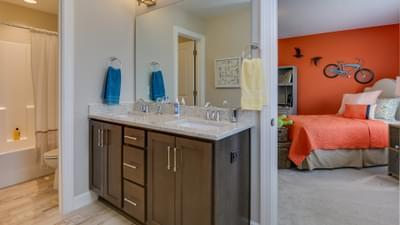 Chesapeake Homes -  The Violet Jack and Jill Bath