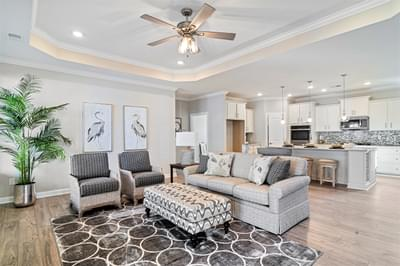 Chesapeake Homes -  The Sweet Escape Great Room