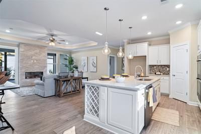 Chesapeake Homes -  The Sweet Escape Kitchen