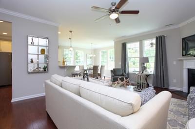 Chesapeake Homes -  The Waverunner Great Room