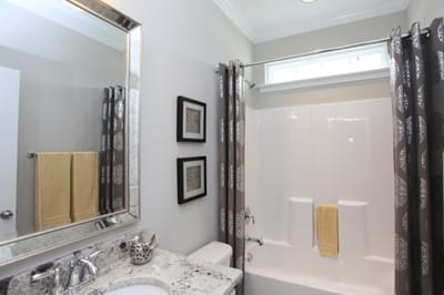 Chesapeake Homes -  The Waverunner Downstairs Bath