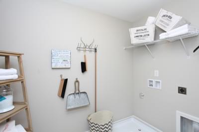 Chesapeake Homes -  The Waverunner Laundry Room