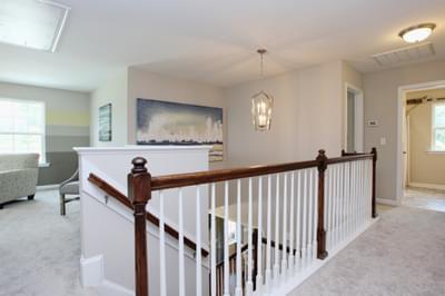 Chesapeake Homes -  The Waverunner Upstairs Hallway