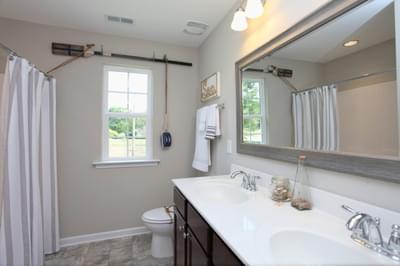 Chesapeake Homes -  The Waverunner Uphall Bath