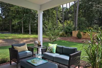 Chesapeake Homes -  The Waverunner Rear Covered Porch