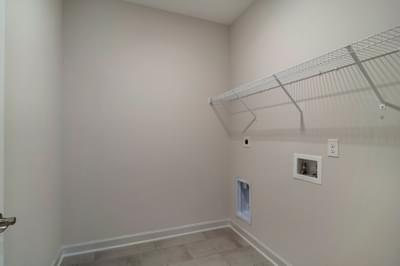 Chesapeake Homes -  The Palmetto Laundry Room