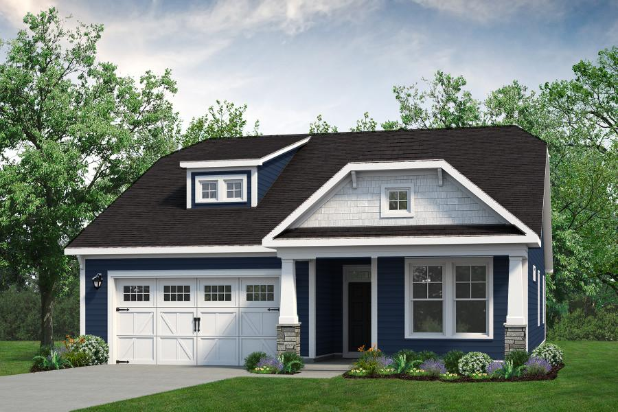 Chesapeake Homes -  The Palmetto Elevation A