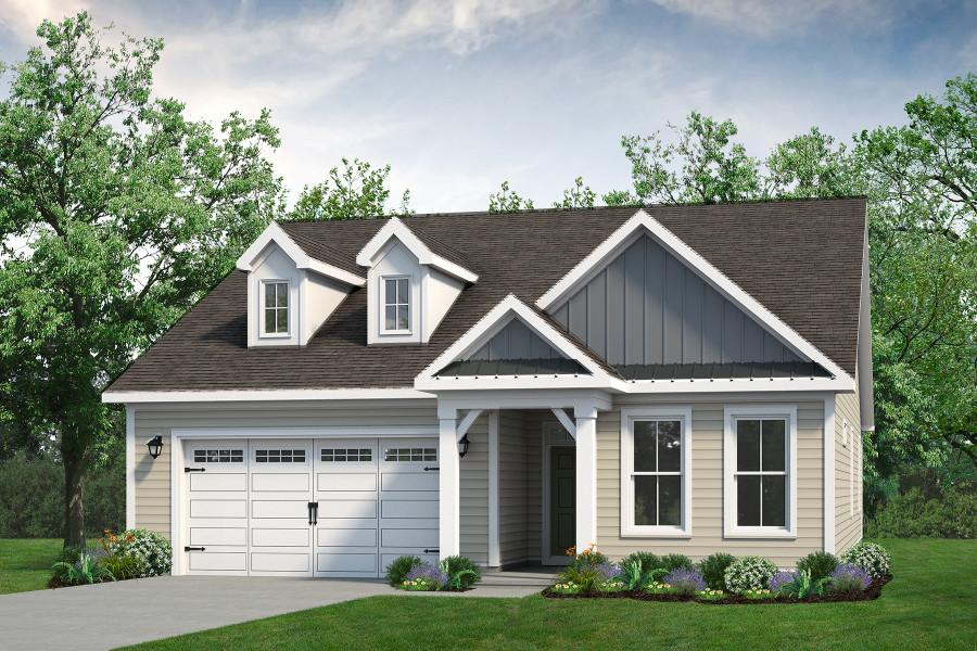 Chesapeake Homes -  The Palmetto Elevation B