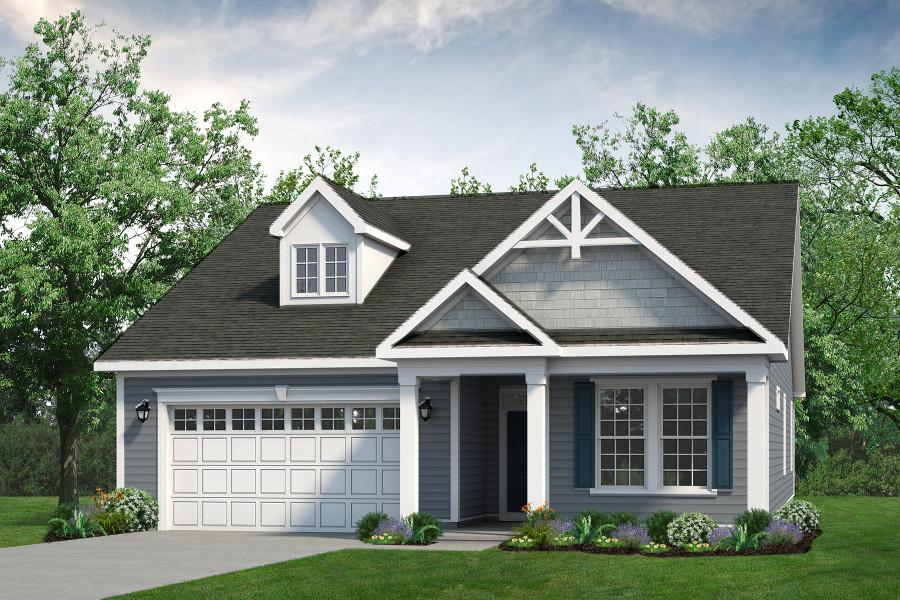 Chesapeake Homes -  The Palmetto Elevation C