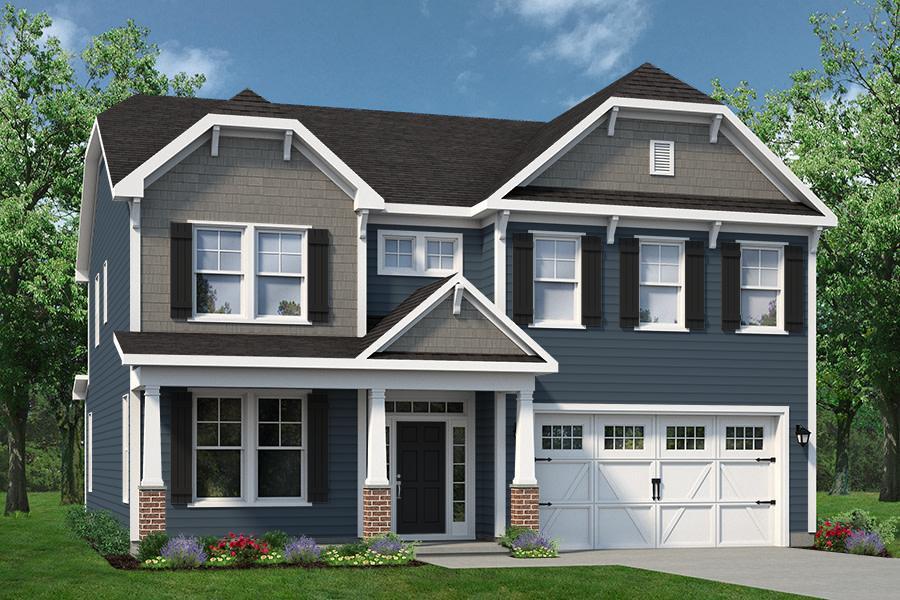 Chesapeake Homes -  The Waverunner Elevation A