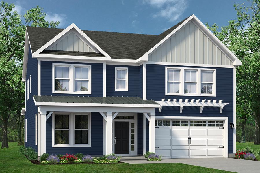 Chesapeake Homes -  The Waverunner Elevation B - Opt. Metal Seam Roof