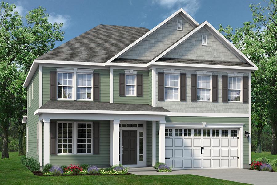 Chesapeake Homes -  The Waverunner Elevation C