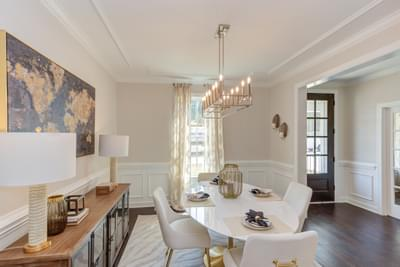 Chesapeake Homes -  The Lilac Dining Room