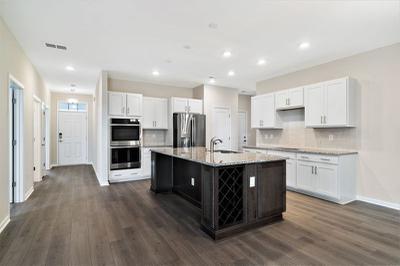Chesapeake Homes -  The Kiawah Kitchen