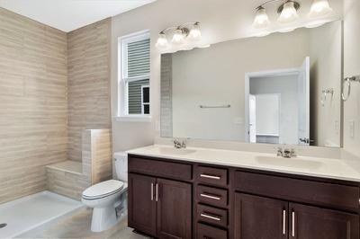 Chesapeake Homes -  The Kiawah Owner's Bath