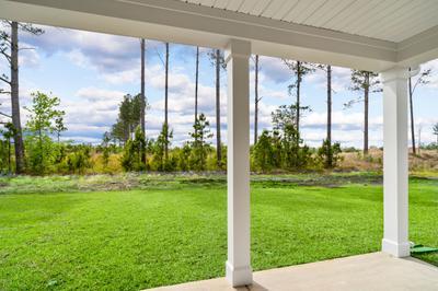 Chesapeake Homes -  The Kiawah Rear Covered Porch