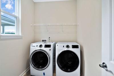 Chesapeake Homes -  The Kiawah Laundry Room