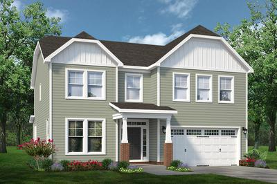 Chesapeake Homes -  The Concerto Elevation A