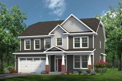 Chesapeake Homes -  The Grace Elevation A - With Opt. Full Porch