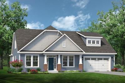 Chesapeake Homes -  The Finale Elevation A