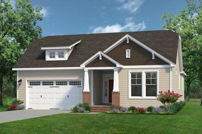 Chesapeake Homes -  The Mandolin Elevation A