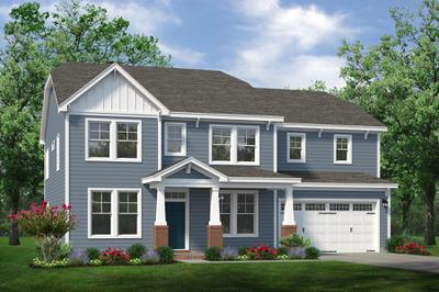 Chesapeake Homes -  The Harmony Elevation A