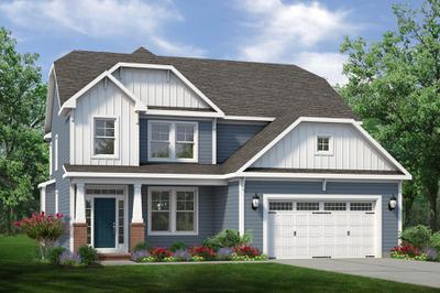 Chesapeake Homes -  The Aria Elevation A