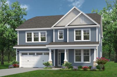 Chesapeake Homes -  The Arietta Elevation A