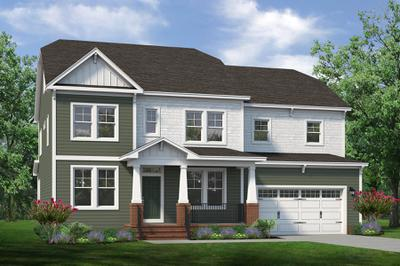 Chesapeake Homes -  The Violet Elevation A
