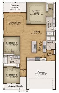 Chesapeake Homes -  787 Hackberry Way, Longs, SC 29568