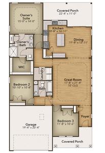 Chesapeake Homes -  5047 Sundrop Lane, Little River, SC 29566
