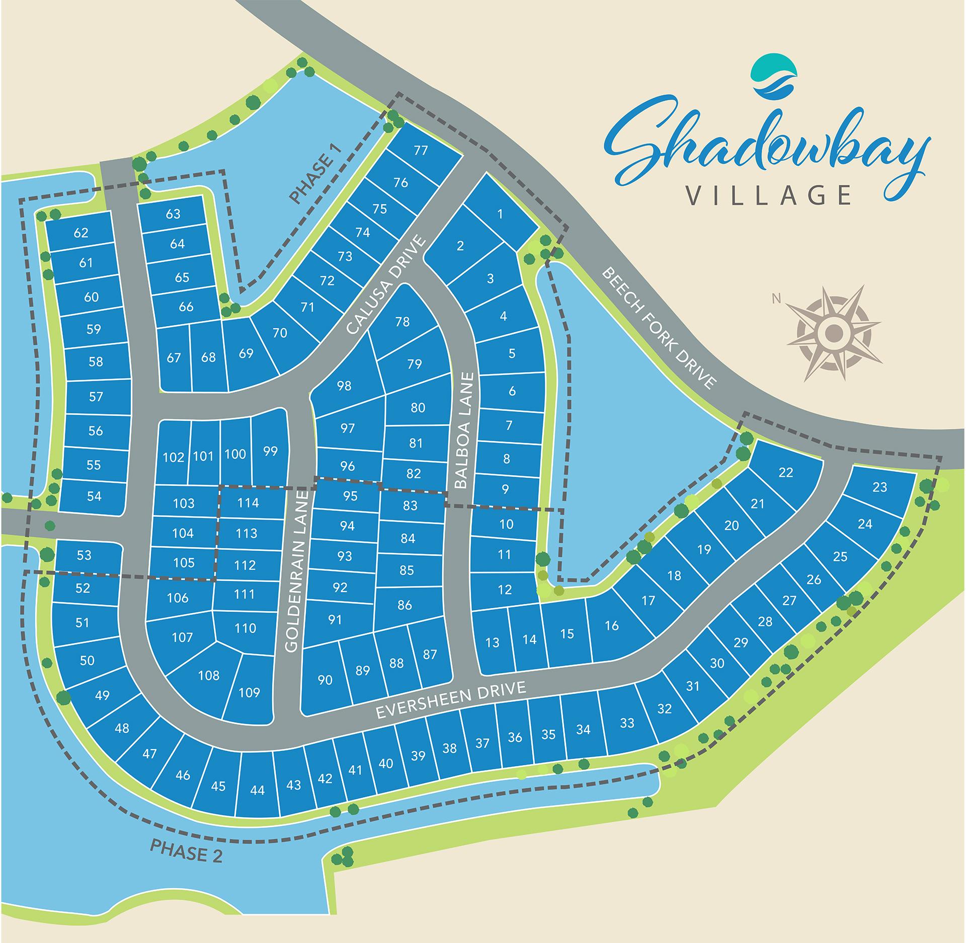 Little River, SC Bridgewater - Shadowbay Village New Homes from Chesapeake