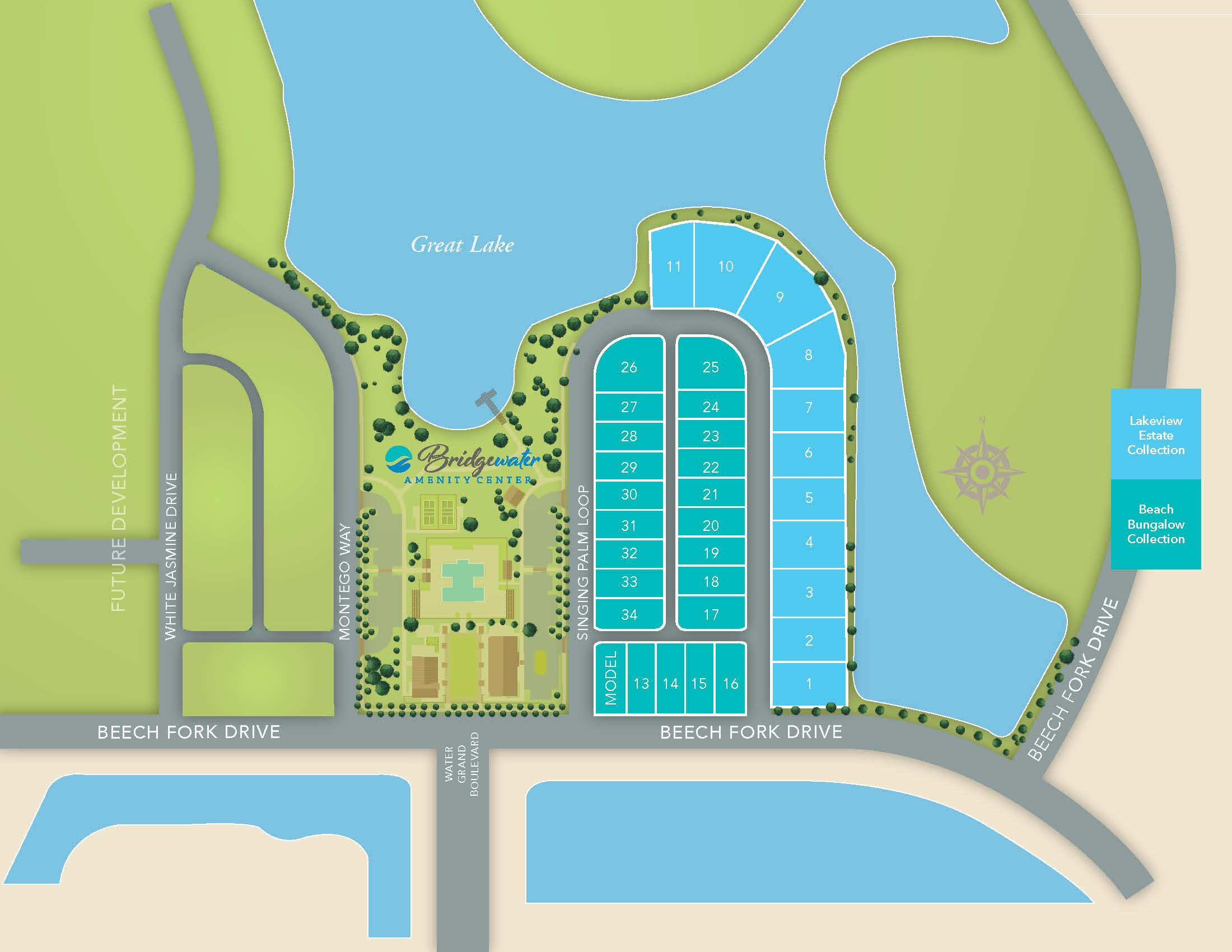 Little River, SC Bridgewater - Waterside Village One New Homes from Chesapeake